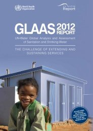 2012 GlAAS report - libdoc.who.int - World Health Organization