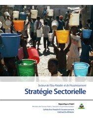 Stratégie Sectorielle pour le secteur de l'eau - Programme Solidarité ...
