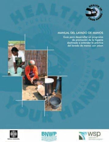 Manual del lavado de manos - BVSDE