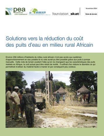Adduction d 39 eau potable en milieu rural guide des projets for En milieu rural