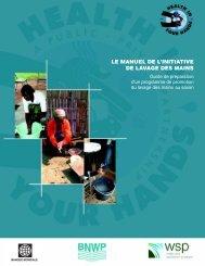 le manuel de l'initiative de lavage des mains - World Bank Internet ...