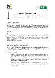 Télécharger la délibération au format PDF - Cub
