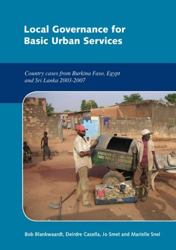Local Governance for Basic Urban Services - IRC International ...