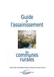 Guide de l'assainissement des communes rurales - Les documents ...