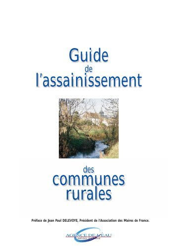 Guide de l'assainissement des communes rurales - Les documents ...