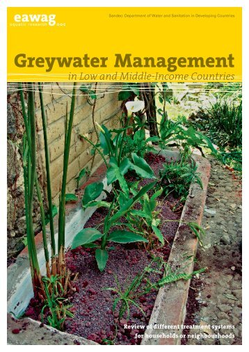 Greywater Management in Low and Middle-Income Countries - SSWM