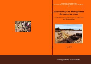 Vol.3 Guide technique du Développement des ressources en eau