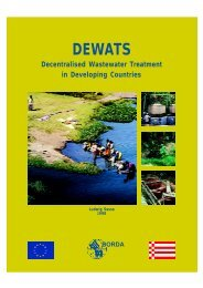 DEWATS - Decentralised Wastewater Treatment in ... - SSWM