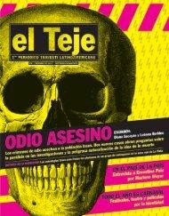 Revista El Teje - Centro Cultural Ricardo Rojas - Universidad de ...