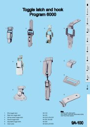 Modular Closing Systems - General Catalogue - 2011