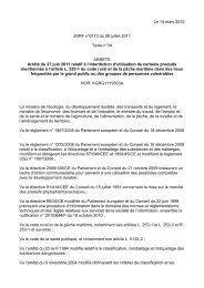 Le 14 mars 2012 JORF n°0173 du 28 juillet 2011 Texte n°34 ...