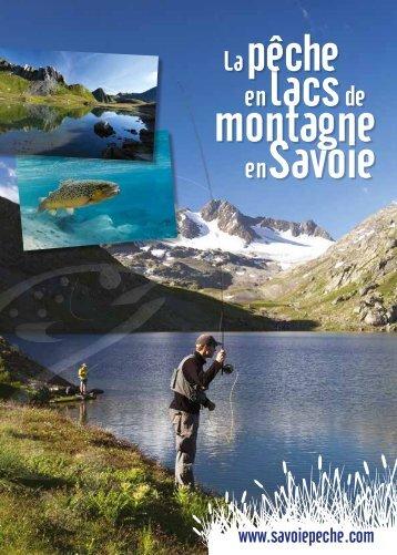 en lacsde montagne en Savoie - Pêche en Savoie
