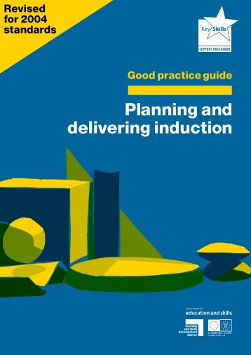 Good practice guide : Planning and delivering induction