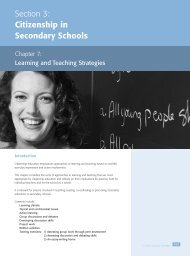 Learning and Teaching Strategies - Excellence Gateway