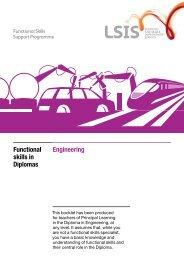 Engineering Functional skills in Diplomas - Excellence Gateway