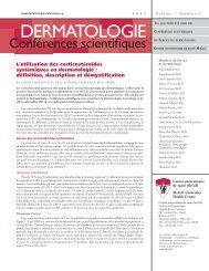 définition, description et démystification - Dermatologie conférences ...
