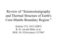 """Review of """"Seismostratigraphy and Thermal Structure of Earth's ..."""