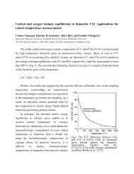 Carbon and oxygen isotopic equilibrium in fumarolic CO ...