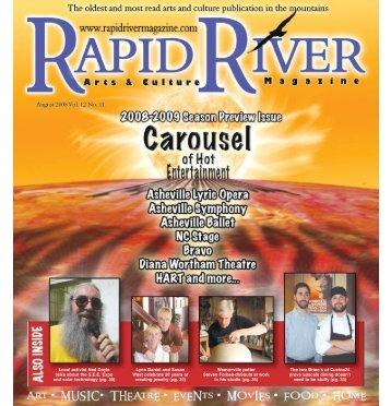 AuGuST 2008 - Rapid River Magazine
