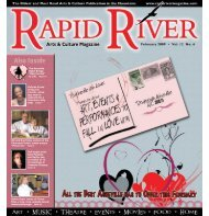 FEBRuARy 2009 - Rapid River Magazine