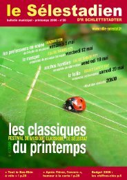 PDF, 2.2 Mo - Ville de Sélestat