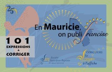 En Mauricie, on publifrancise - Société Saint-Jean-Baptiste de la ...