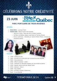 23 juin parc portuaire de trois-rivières