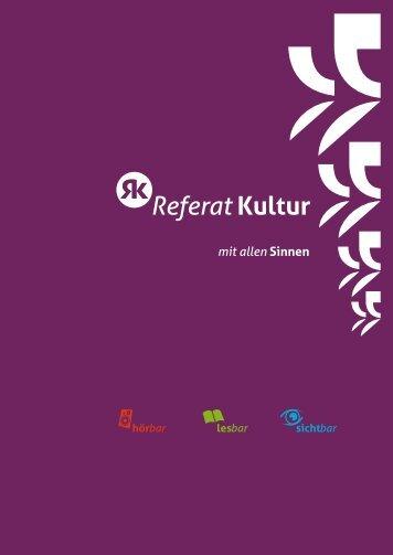 Referat Kultur - StuRa