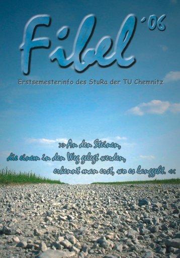 Fibel 2006 als PDF - StuRa - Technische Universität Chemnitz