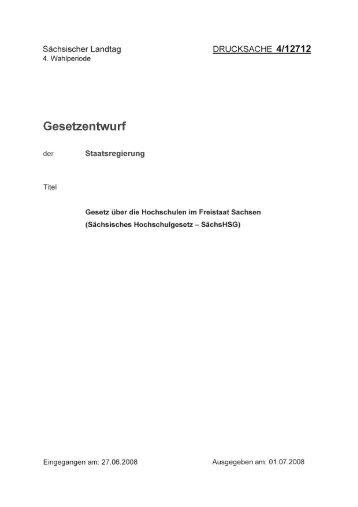 Drucksache 4/12712 - StuRa - Technische Universität Chemnitz