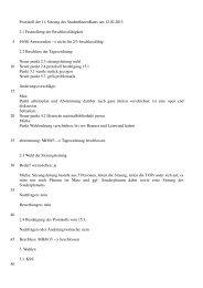 Protokoll zur Sitzung am 12.02.2013 - StuRa Universität Leipzig