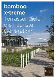 bamboo x-treme Terrassendielen - die nächste Generation