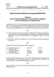 Zweckverband Wasserversorgung Mittelhardt