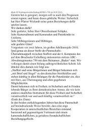 Ansprache Ortsvorsteher Ludwig-Wilhelm Heidt