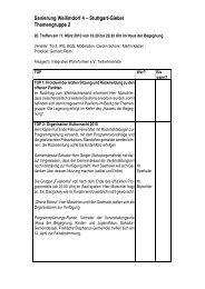 Protokoll des 20. Treffens am 11. März 2010 (PDF) - Stuttgart-Giebel ...