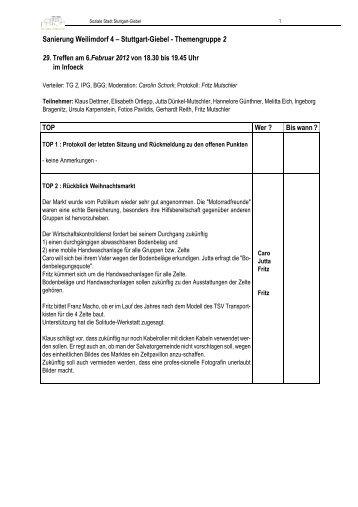 Protokoll des 28. Treffens am 06. Februar 2012 (PDF)