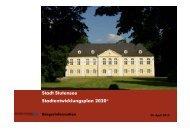Stadt Stutensee Stadtentwicklungsplan 2020+