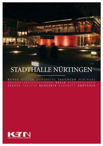 Imagebroschüre (PDF) - Stuttgart Locations