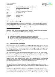 TOP 1 Begrüßung und Einführung Auf Initiative einiger Neugereuter ...