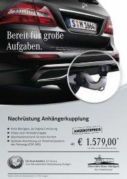 Nachrüstung Anhängerkupplung - Mercedes-Benz Niederlassung ...