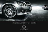 amg sonderausstattungen und zubehör - Mercedes-Benz ...
