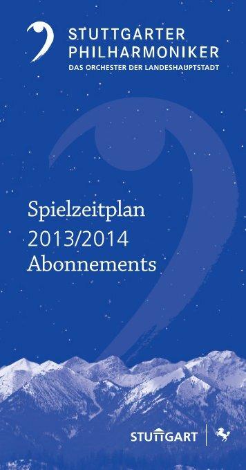Leporello zum Herunterladen (pdf) - Stuttgarter Philharmoniker