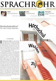 aktuelle Ausgabe - Studierendenvertretung - Universität Würzburg
