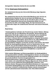 Antragsteller: Sebastian Czichon für die Juso-HSG Antrag: Kampf ...