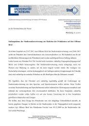 offener Brief_Stellungnahme der StuV auf Reaktion des Präsidenten