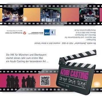 Azubi-Casting - IHK für München und Oberbayern