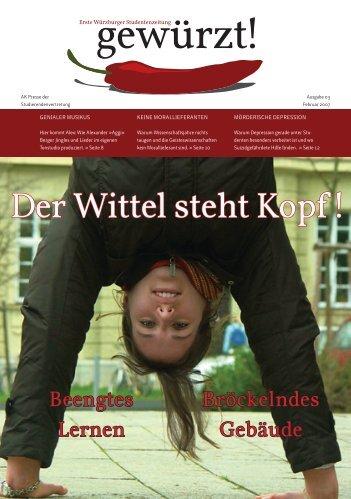 Der Wittel steht Kopf ! - Studierendenvertretung - Universität Würzburg