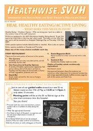148129 St Vincents Healthwise 05.07 - St Vincent's University Hospital