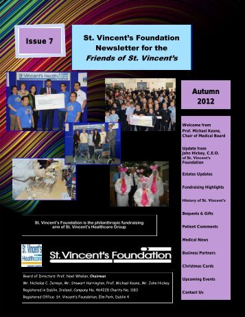Friends of St. Vincent's - St Vincent's University Hospital
