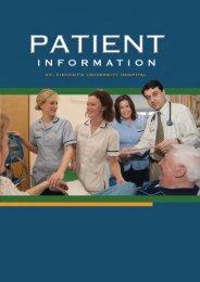 Mission Statement - St Vincent's University Hospital